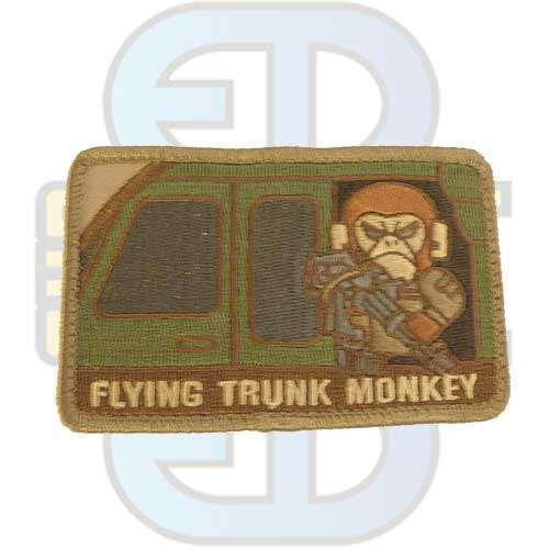 Flying Trunk Monkey - Patch
