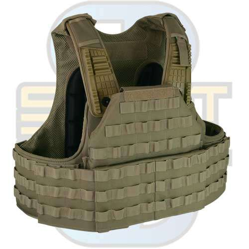 Armor Chassis TSF-22 - Molle vest, Tan
