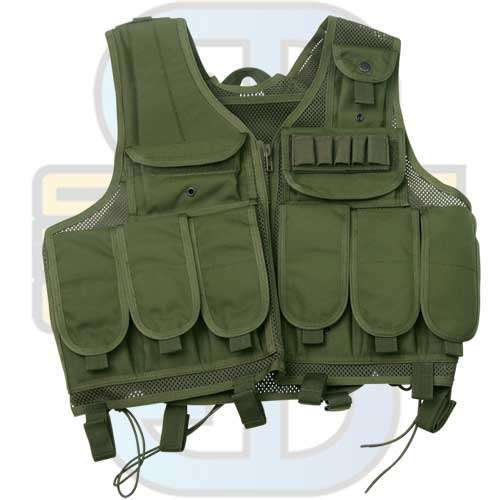 Tactical Vest S.W.A.T., Oliven