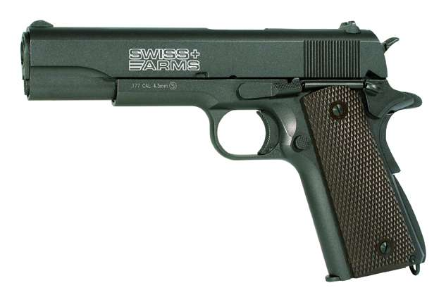 Swiss Arms P1911 - Full metall & Blow Back - 4,5mm