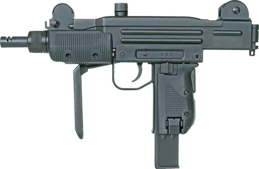 UZI MINI - Full metall & Blow Back, Co2-Versjon