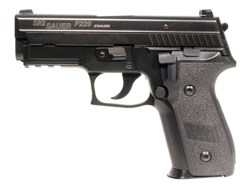 Sig Sauer P229 - Full metall & Blow Back, Gass