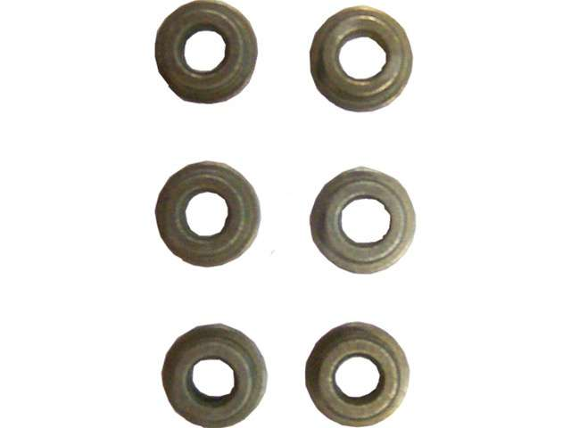 Plast Bushings 6 pkn.
