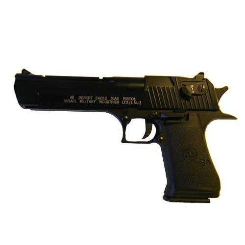 Desert Eagle .50AE Metall & Full Auto, Co2