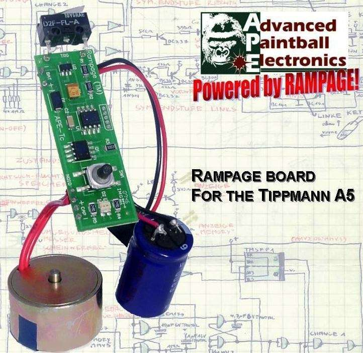 Rampage Board for the A5 w/Powershot Solenoid