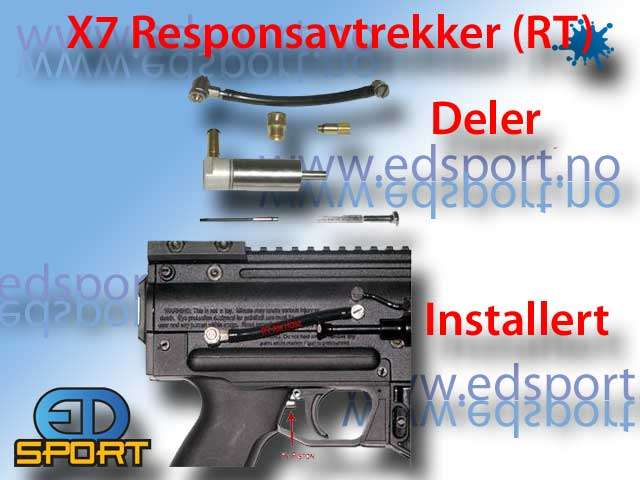 RT-Grep sett for Tippmann X7