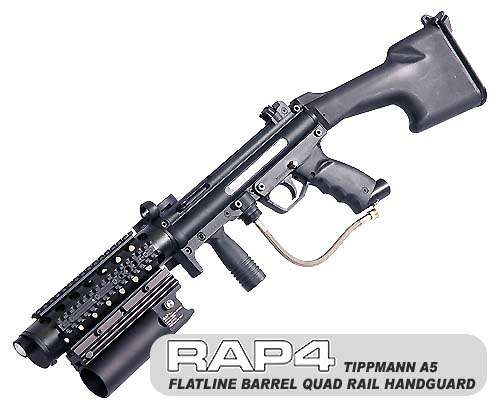 Rail Kit for Tippmann A5, Flatline