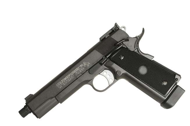 Colt 1911 MK IV - Full metall & Blow Back, Co2