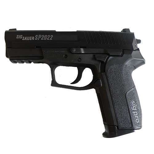 Sig Sauer SP2022 - Full metall & Blow Back, Gass