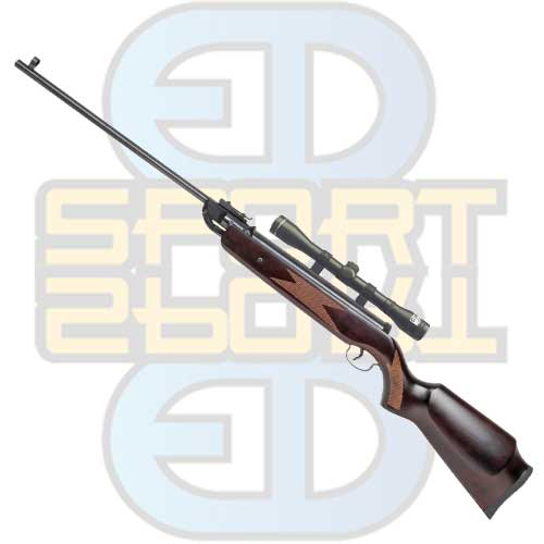 Swiss Arms XT32  - Wood knekkrifle 4,5mm. m/ kikke