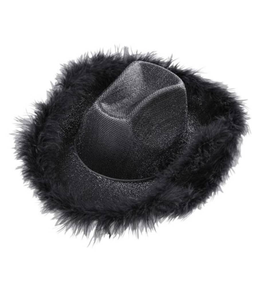 Black Lurex Cowgirl - Hatt